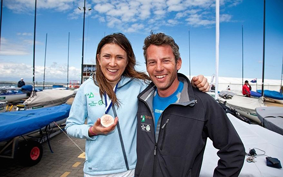Annalise Murphy Rory Fitzpatrick in 2012