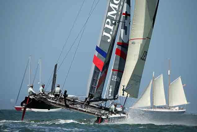 Ben Ainslie Americas Cup boats 21