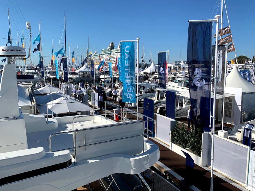 Don't miss the Beneteau Village at the Southampton International Boat Show, open till this Sunday 22 September