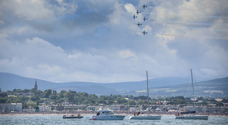 Bray air Show boats 1554