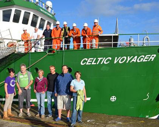 Bay of Biscay survey team
