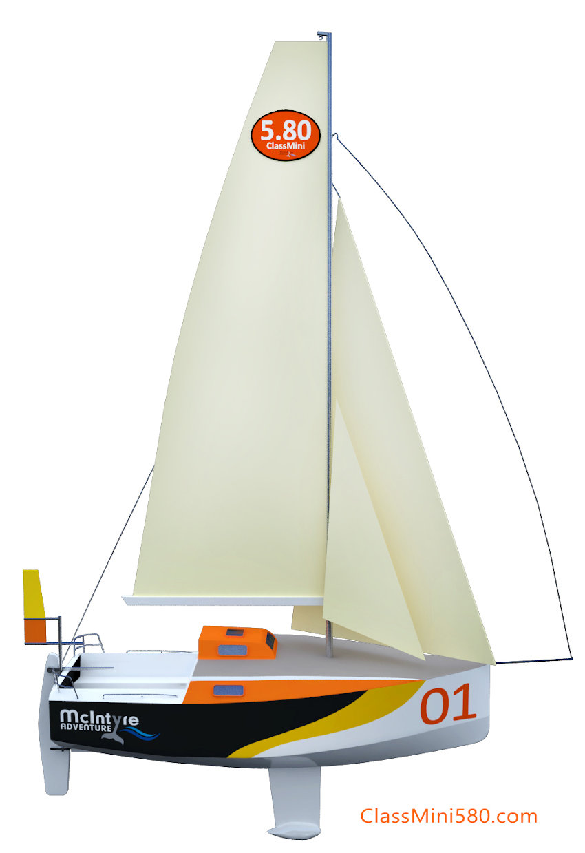 Artist's impression of the Class Mini 5.80
