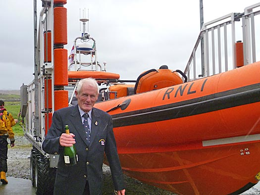 Jackie O'Grady names Clifden RNLI's new lifeboat Joyce King
