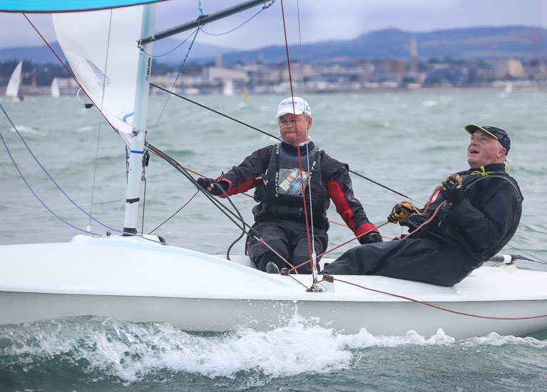 Irish Champions Dave Gorman (left) and Chris Doorly Photo: Afloat