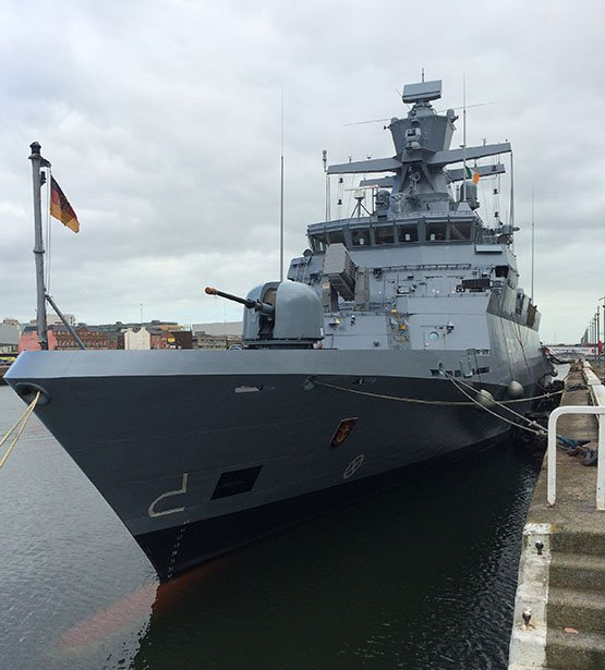 German_naval_corvette_F264