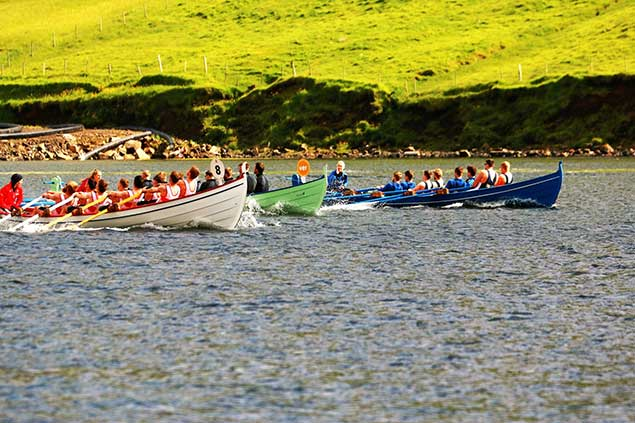Gig racing in the Faroes 10
