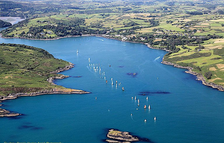 Glandore harbour from sea