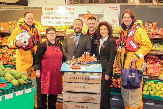Howth RNLI at SuperValu Sutton