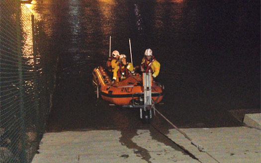 Howth RNLI rescue man from Howth Harbour