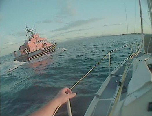 Howth RNLI rescue seasick sailor