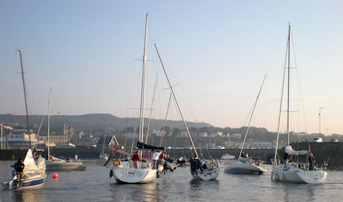 Dredging in Howth Harbour