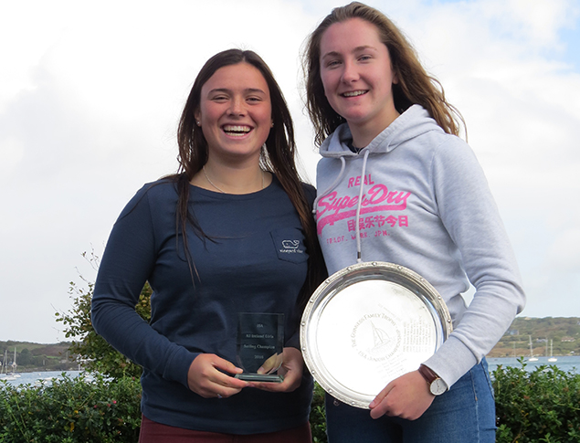 Kate Lyttle and Niamh Henry 2016 All Ireland Womens Junior Champions 1