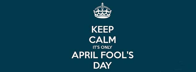 Keep Calm Its Only April Fools Day Facebook Covers FBcoverlover facebook cover