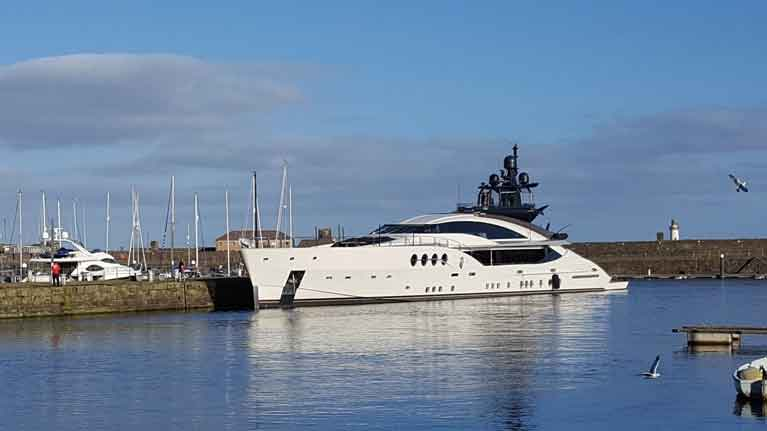 Lady M super yacht