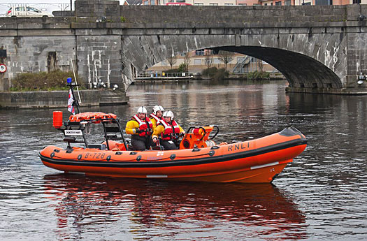 The Lough Ree RNLI lifeboat is celebrating its first year of service