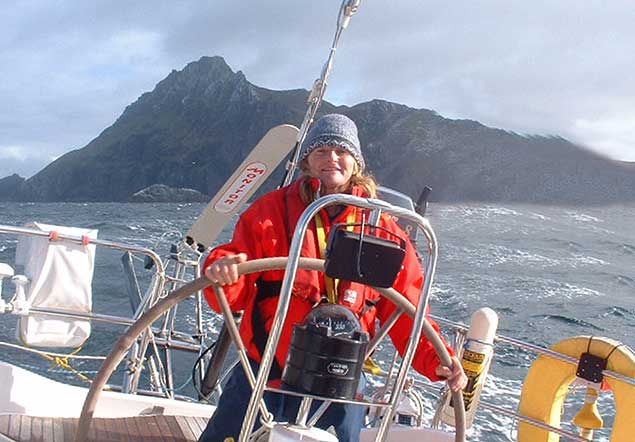 Maire Breathnath off Cape Horn 5