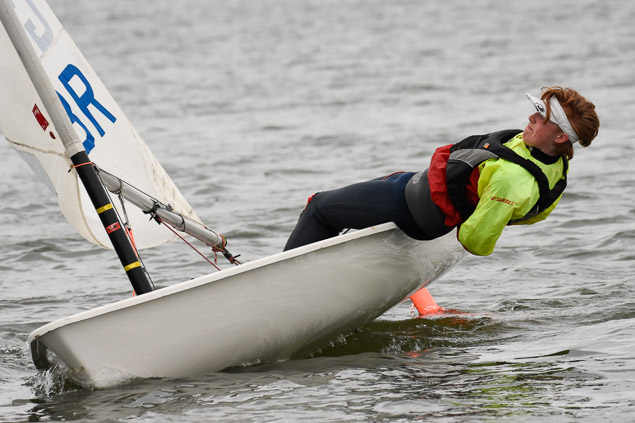 Monkstown Bay Laser dinghy sailing11