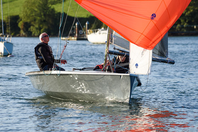 National 18 dinghy racing1