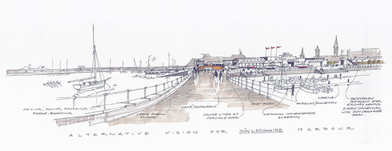 National Watersports Centre sketch 3 October 2015