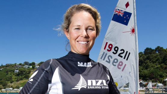 New Zealand sailor Sarah Winthers