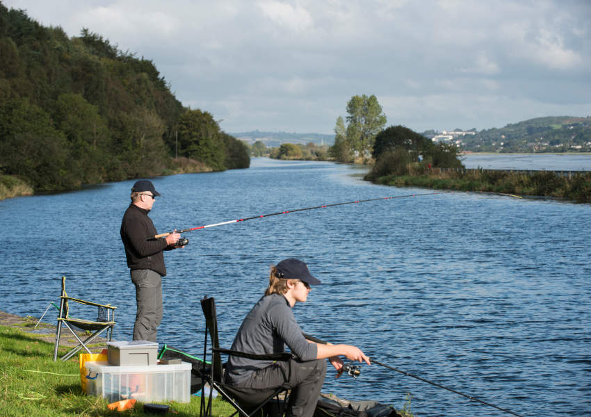 Coarse angling on the Newry Canal (Photo: Loughs Agency)