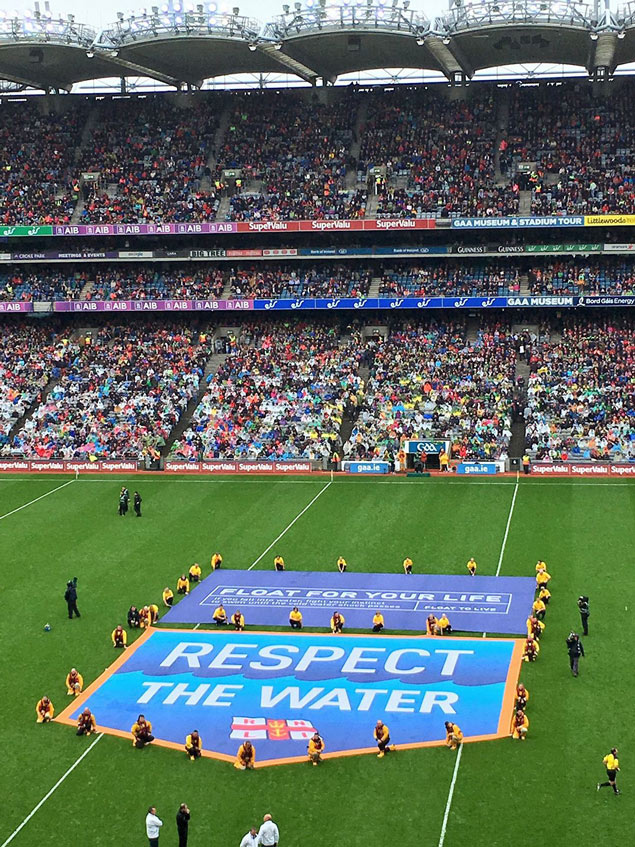 RESPECT THE WATER RNLI AT CROKE PARK