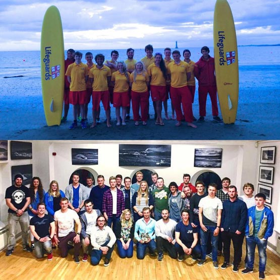 Northern Ireland's RNLI lifeguards in 2015