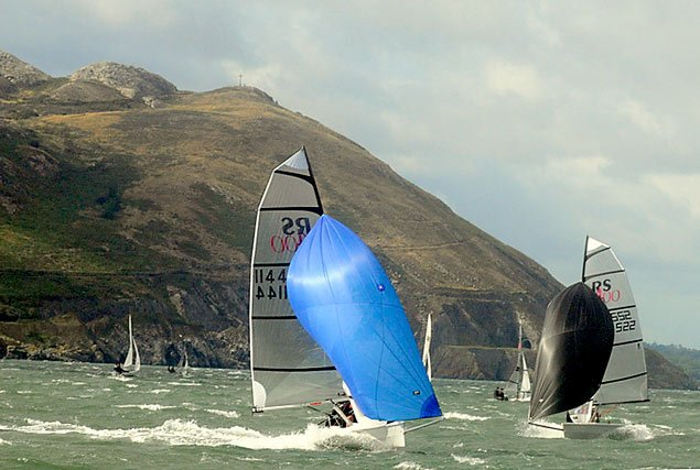 RS400 dinghies greystones sailing