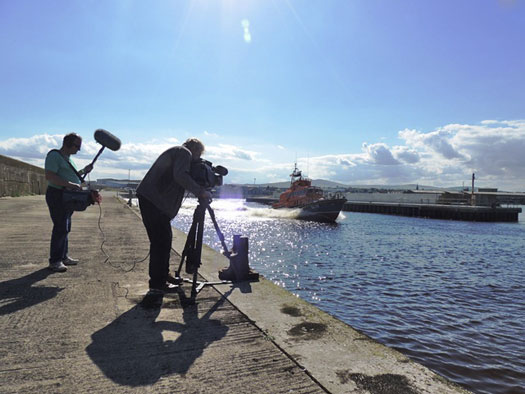 RTE at Arklow RNLI