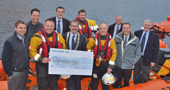 Lough Ree RNLI donation
