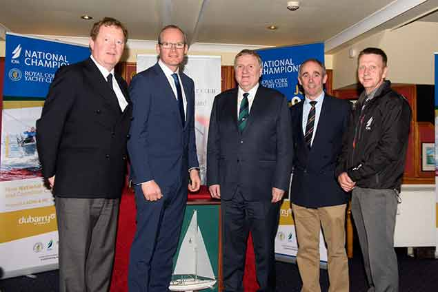 Royal Cork YC Launch ICRA Nationals 27th March 2017