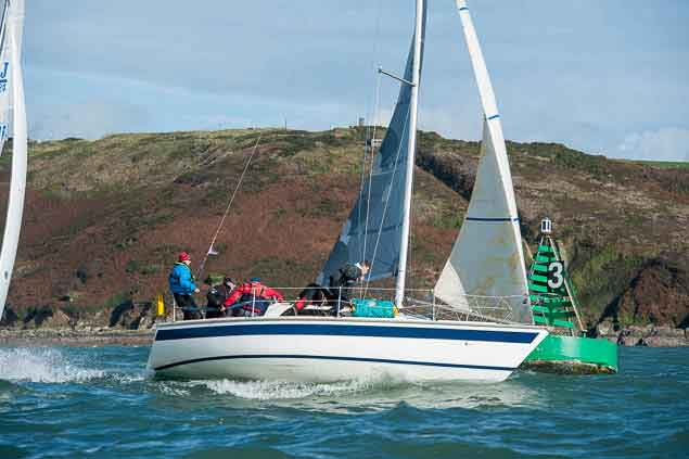 Sailing Cork Harbour 5