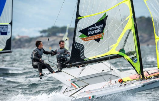 Seaton McGovern ISAF Worlds 2014 Day 8