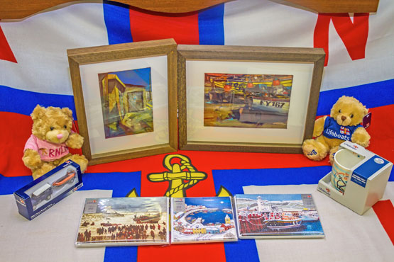 Skerries RNLI Christmas raffle prizes