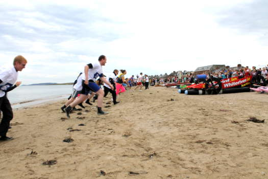 Skerries RNLI Raft Race gets under way in 2013