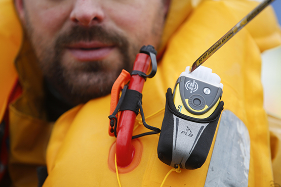 THE NEW BIM LIFEJACKET WITH BUILT IN POSITION FINDER