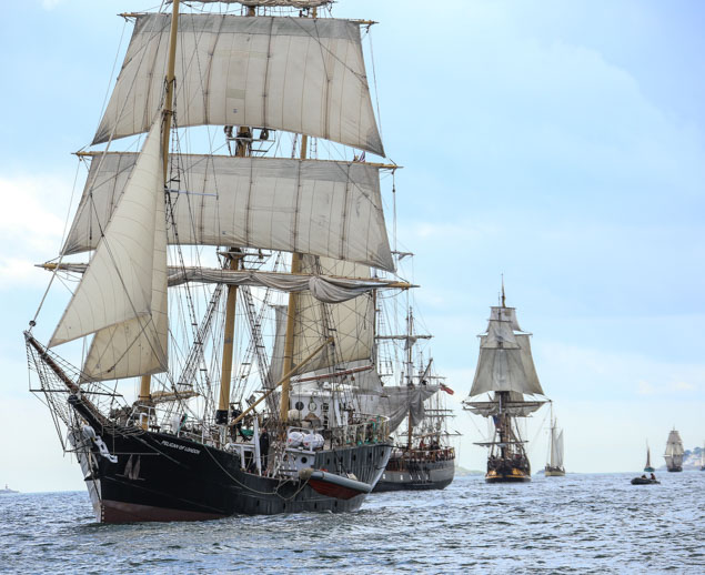 Tall ships Pelican