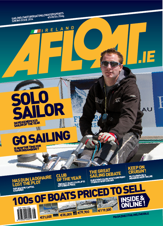 afloat front cover Kenefick