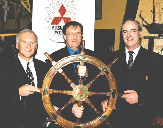 Mitsubishi Motors Sailing Club of the Year award