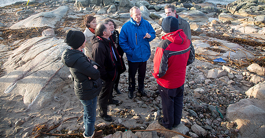 Simon Coveney in connemara