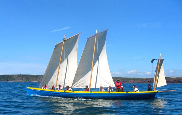 Pembrokeshire Bantry Boat