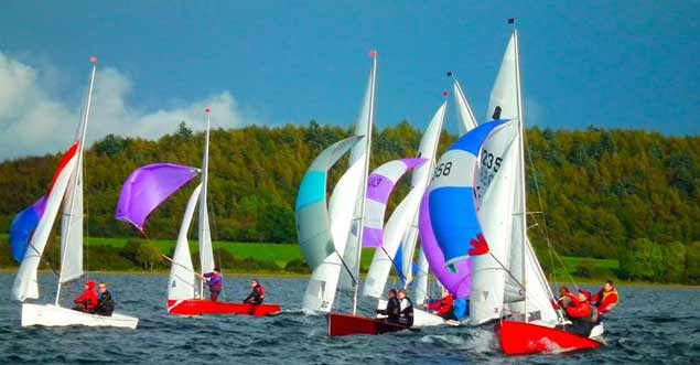 gp14s on lough owel11