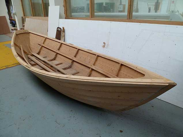 grand banks dories Ilen Boatbuilding