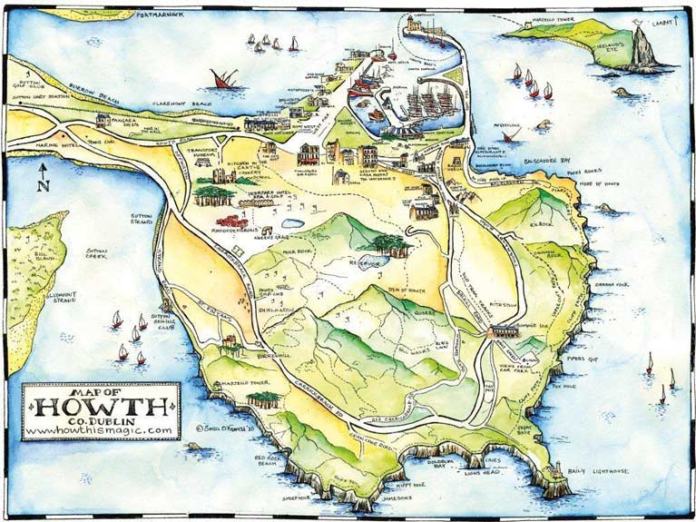 howth map5