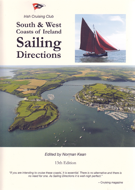 South & West Coasts Sailing Directions from the Irish Cruising Club