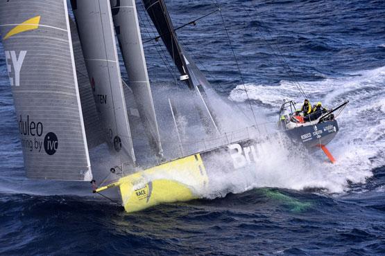 Team Brunel rounding Cape Horn