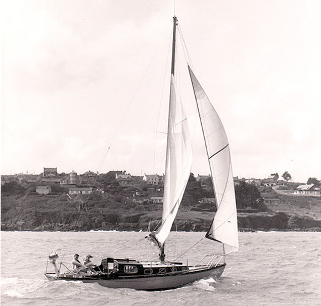 cork harbour one design yacht bermudan