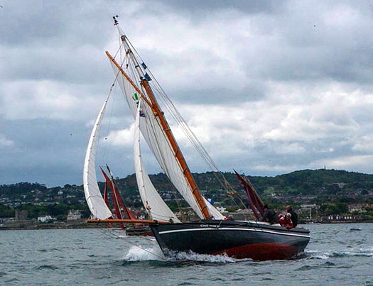 steel-built 42ft Galway Hooker