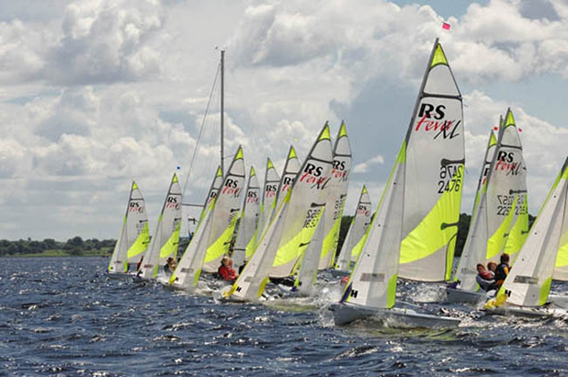 Feva dinghy racing