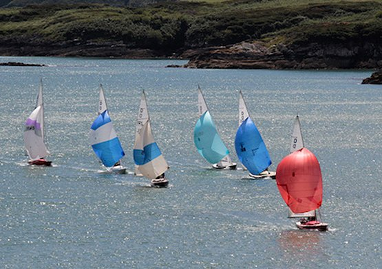 Dragon yacht racing glandore